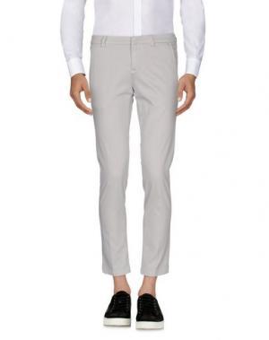 Повседневные брюки MASSIMO BRUNELLI. Цвет: светло-серый