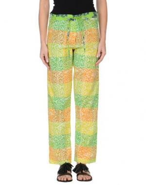 Повседневные брюки OPALINE. Цвет: кислотно-зеленый
