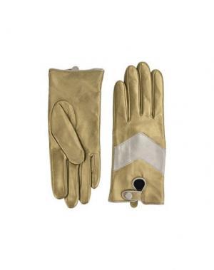 Перчатки SCOTCH & SODA. Цвет: золотистый