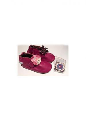 Ботинки MaLeK BaBy. Цвет: фиолетовый