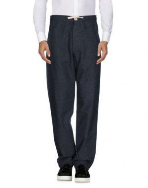 Повседневные брюки OLIVER SPENCER. Цвет: стальной серый