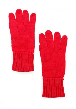 Перчатки Pur. Цвет: красный