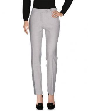 Повседневные брюки AMINA RUBINACCI. Цвет: светло-серый