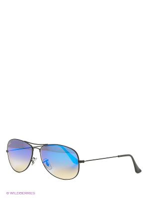Солнцезащитные очки COCKPIT Ray Ban. Цвет: черный