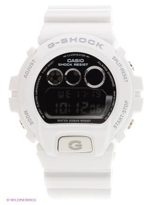 Часы G-SHOCK DW-6900NB-7E CASIO. Цвет: белый