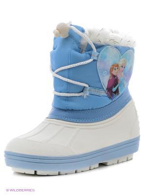 Сапоги Frozen. Цвет: белый