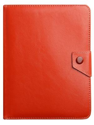 Универсальный чехол-книжка с кипсой для планшетов 10 ProShield. Цвет: красный