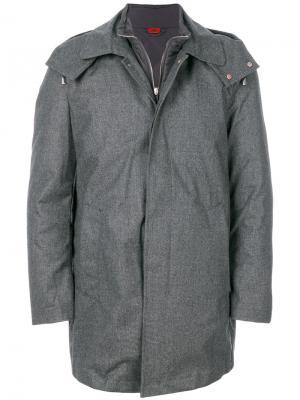 Куртка с капюшоном Kired. Цвет: серый