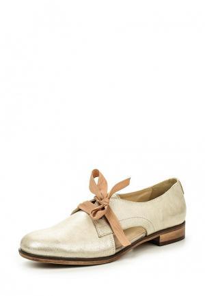 Ботинки Wojas. Цвет: золотой