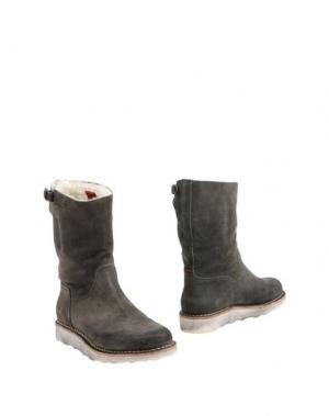 Полусапоги и высокие ботинки ESSEutESSE. Цвет: свинцово-серый
