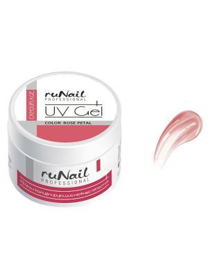 Гель RuNail Professional. Цвет: розовый, белый