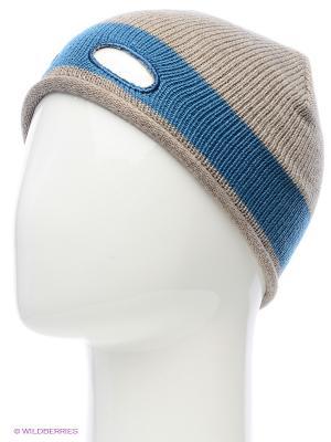 Шапка United Colors of Benetton. Цвет: серый, голубой