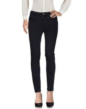 Повседневные брюки 0039 ITALY. Цвет: темно-синий