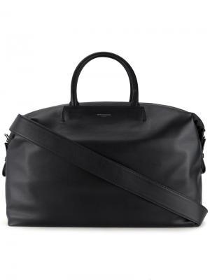 Дорожная сумка с логотипом Wooyoungmi. Цвет: чёрный