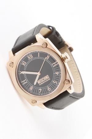 Часы наручные Moschino. Цвет: розовый