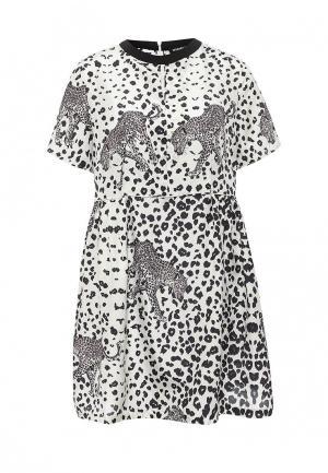 Платье Markus Lupfer. Цвет: черно-белый
