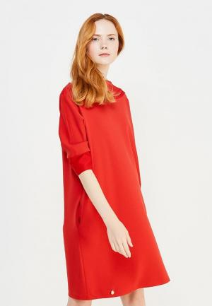 Платье Makadamia. Цвет: красный