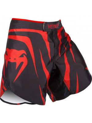 Шорты ММА Venum Sharp FightShorts Red Devil. Цвет: черный, красный