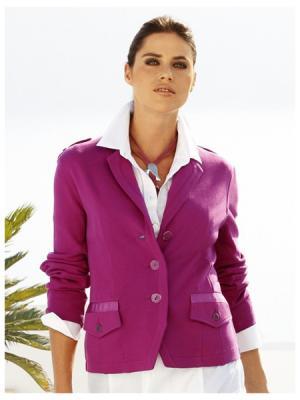 Блейзер Wenz. Цвет: фиолетовый