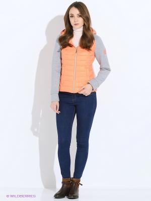 Куртка SNOWIMAGE. Цвет: оранжевый