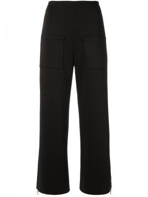 Straight leg trousers Gloria Coelho. Цвет: чёрный