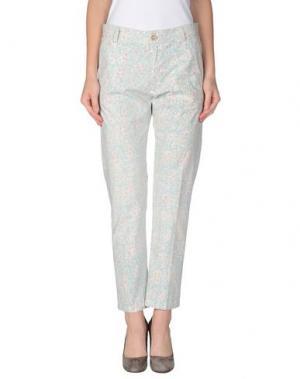 Повседневные брюки LOCAL APPAREL. Цвет: небесно-голубой