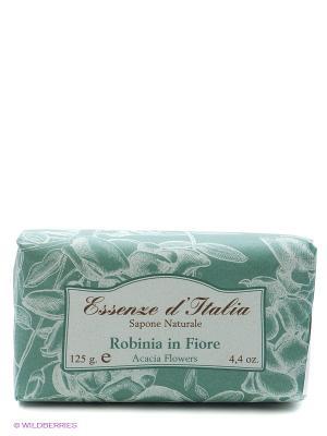 Мыло туалетное с ароматом РОБИНИЯ, 125 г Iteritalia. Цвет: зеленый