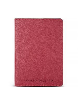 Обложка для паспорта Avanzo Daziaro. Цвет: красный
