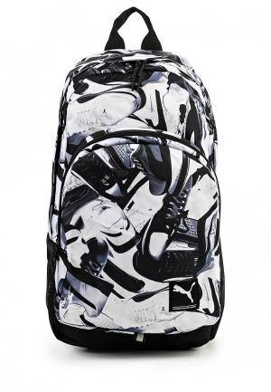 Рюкзак Puma. Цвет: черно-белый