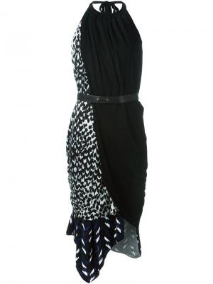 Платье Nisa Issa. Цвет: чёрный