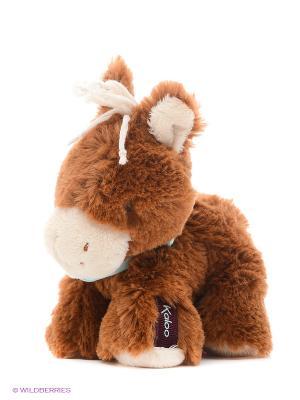 Лошадка 19 см, коллекция Друзья Kaloo. Цвет: коричневый
