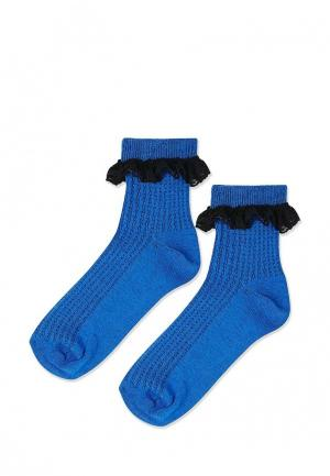 Носки Topshop. Цвет: синий