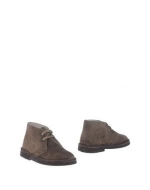 Полусапоги и высокие ботинки EQUERRY. Цвет: хаки