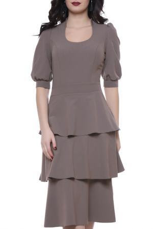 Платье Grey Cat. Цвет: капучино