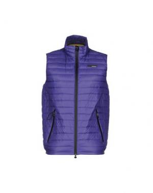 Пуховик RRD. Цвет: фиолетовый