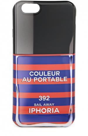 Чехол для iPhone 6 с принтом Iphoria. Цвет: разноцветный