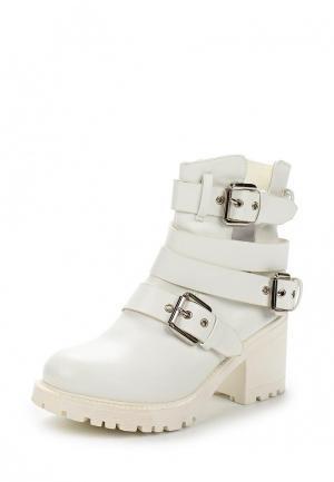 Ботильоны Chic & Swag. Цвет: белый