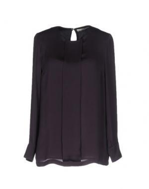 Блузка TROU AUX BICHES. Цвет: баклажанный