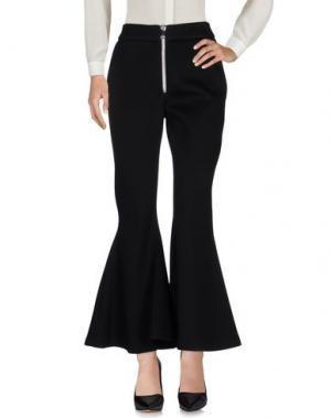 Повседневные брюки BEAUFILLE. Цвет: черный