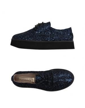 Обувь на шнурках VIRREINA. Цвет: темно-синий
