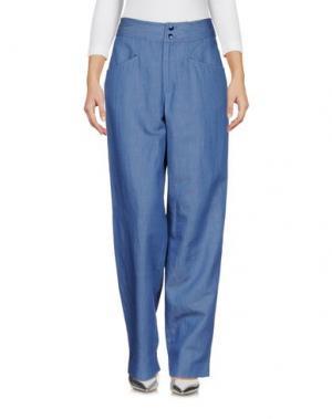Джинсовые брюки VANESSA SEWARD. Цвет: синий