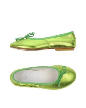 Балетки MISS GRANT. Цвет: светло-зеленый