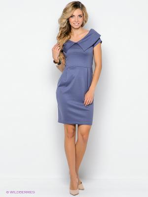 Платье Lussotico. Цвет: сиреневый
