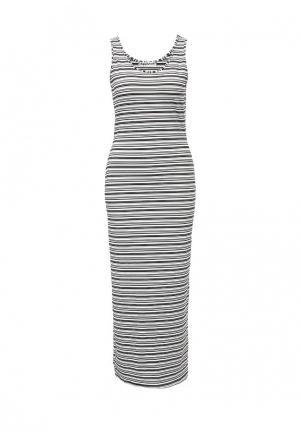 Платье Amplebox. Цвет: черно-белый
