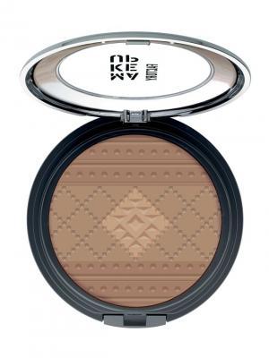 Бронзовая пудра Sun Teint Powder №11, оттенки загара Make up factory. Цвет: бронзовый