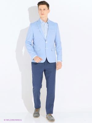 Пиджак Valenti. Цвет: голубой
