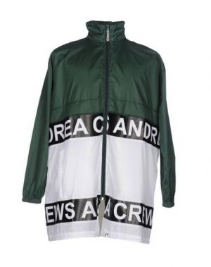 Куртка ANDREA CREWS. Цвет: зеленый