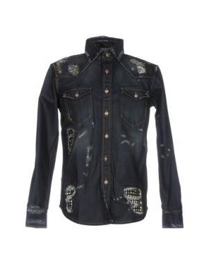 Джинсовая рубашка PHILIPP PLEIN 42582868XB