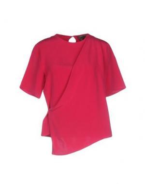 Блузка TONY COHEN. Цвет: фуксия