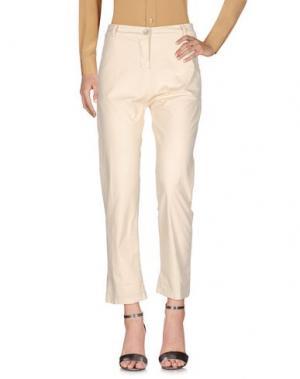 Повседневные брюки SUERTE. Цвет: слоновая кость